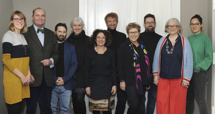 Jury und TEam Deutsche filmkademie, Jurysitzung Europa im Film