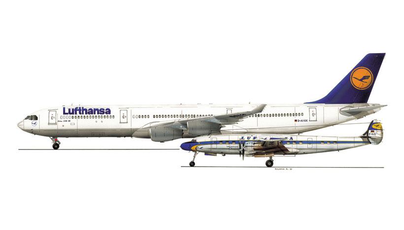 airbus 340 lufthansa