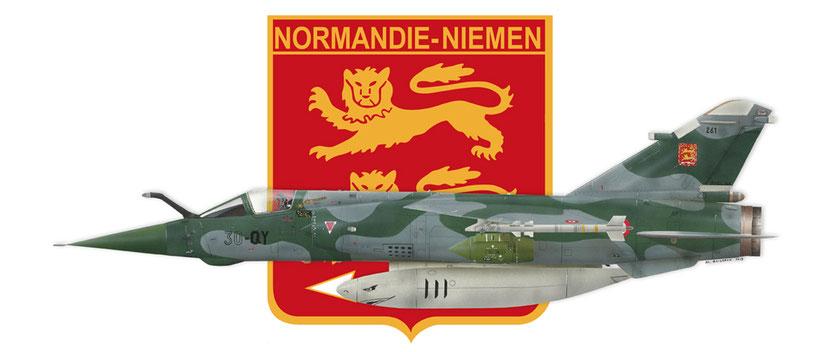 Dassault Mirage F1CT Régiment Normandie Niemen