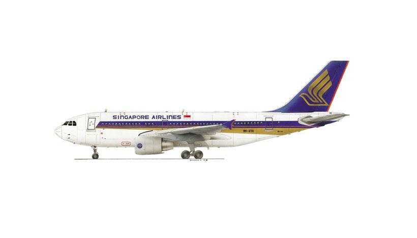 airbus 310 singapor