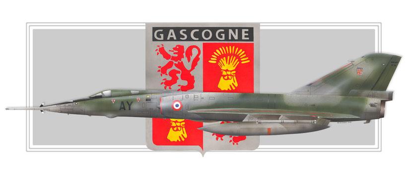 Dassault mirage IVP escadron EB 1/91  gascogne