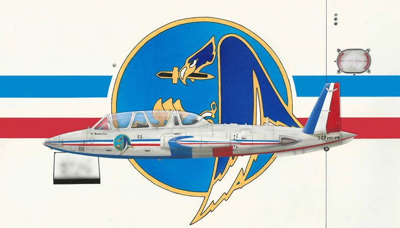 Fouga Magister CM170