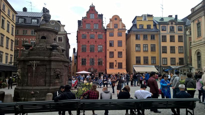 Stockholm Sweden ofpenguinsandelephants Stortorget Gamla Stan