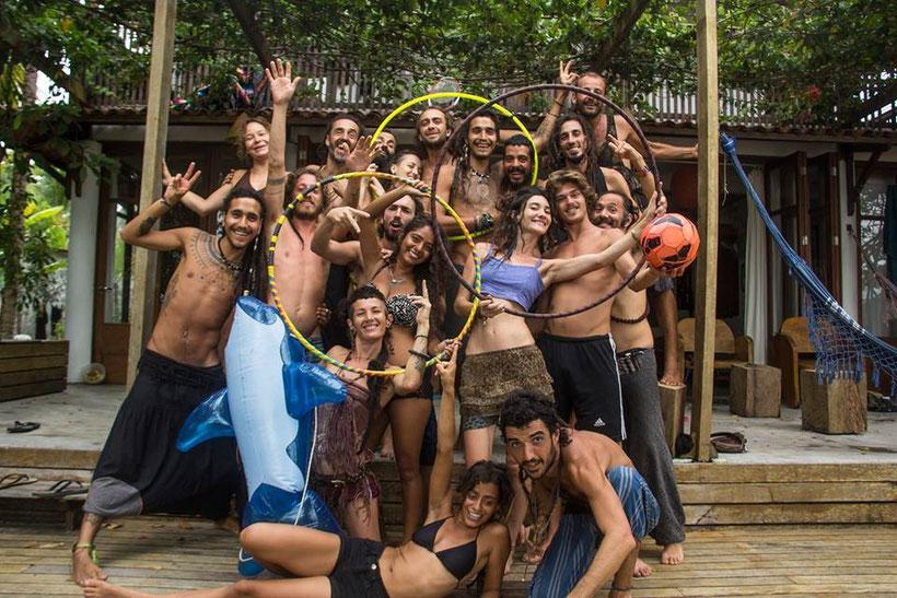 Boa Familia!  (Beautiful Family)