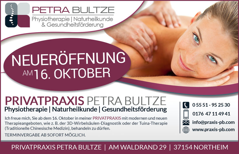Privatpraxis Physiotherapie