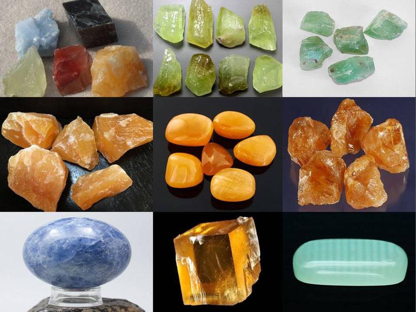 Calcite - lithothérapie - Boutique minéraux - Casa bien-être