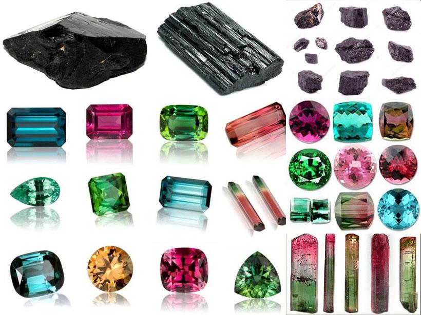 Tourmaline - Lithothérapie - Boutique minéraux - casa bien-être -
