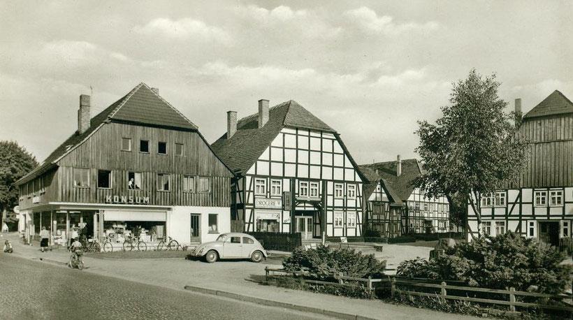 Der alte Dorfplatz