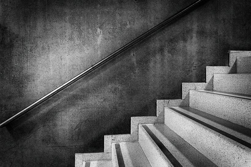 Handlauf mit Stufen