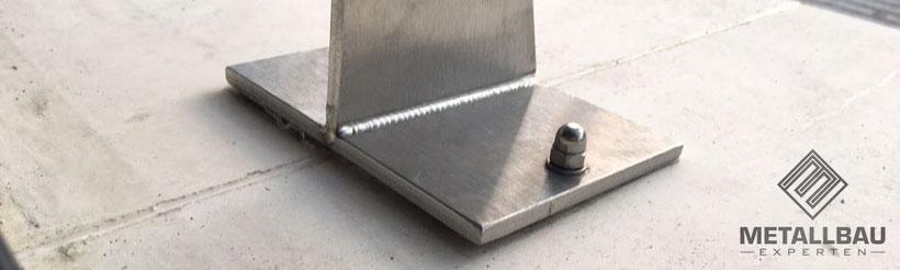 Metallbau Experten - Expertise Gutachten Geländer Statik