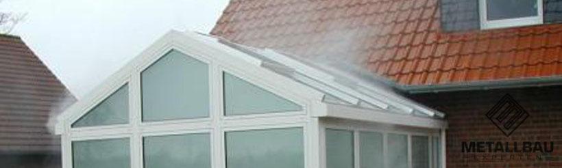 Metallbau Experten - Expertise Gutachten Wintergarten Fenster