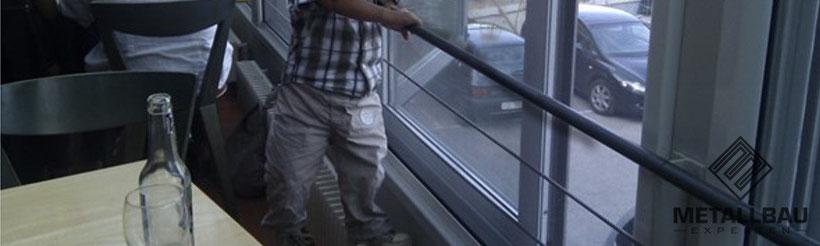 Metallbau Experten - Expertise Gutachten Geländer bfu Geländer und Brüstungen