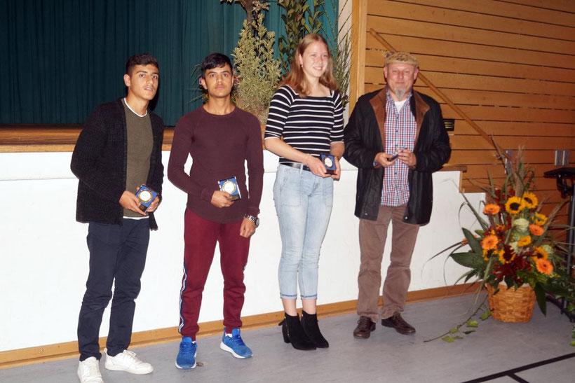 Ehrenabend der Gemeinde Bad Schönborn in der Ohrenberghalle am 19.10.2018