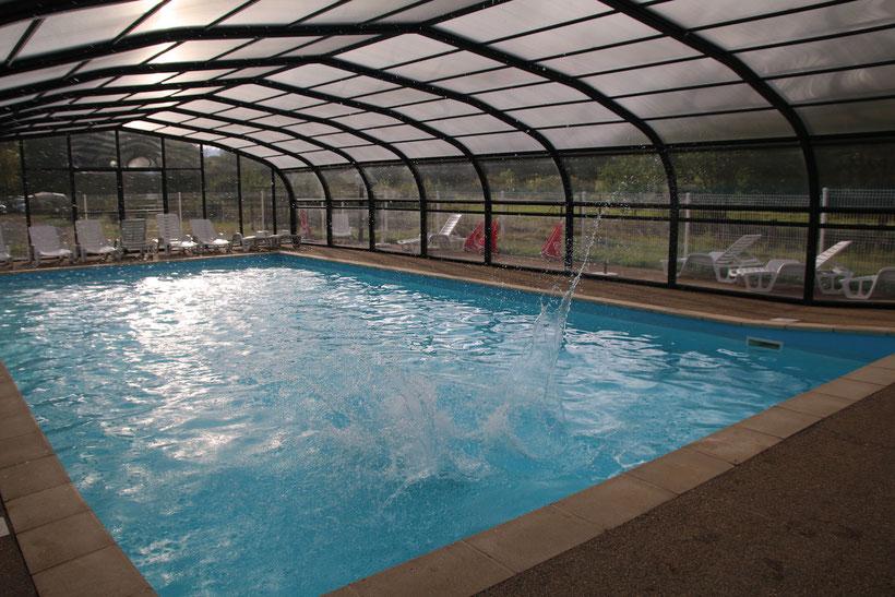 piscine couverte chauffée camping vichy abrest allier auvergne