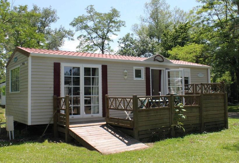 camping auvergne allier vichy mobile home de luxe