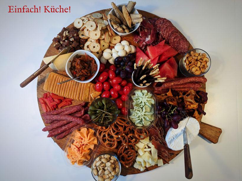 Einfah! Küche! Vorspeisenteller Weihnachten 2017