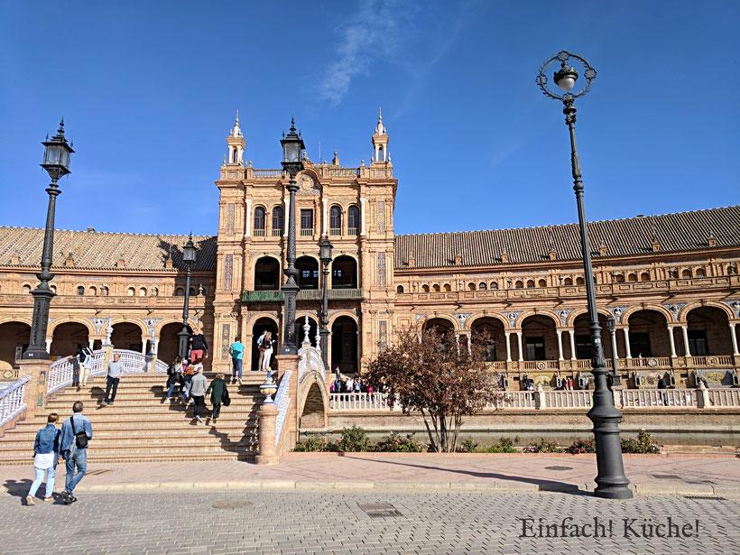 Plaza de España, Sevilla, Andalusien, Spanien