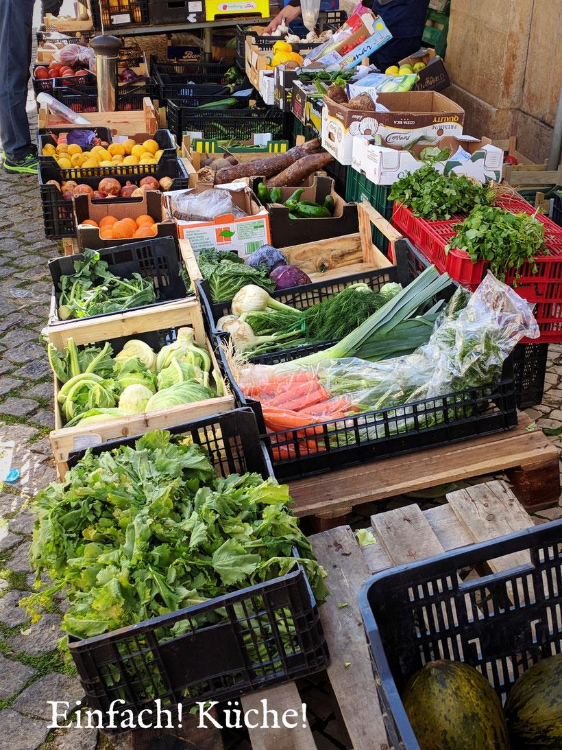 Einfach! Küche! Unser Tag in Bildern: Einkaufen auf dem Bauernmarkt