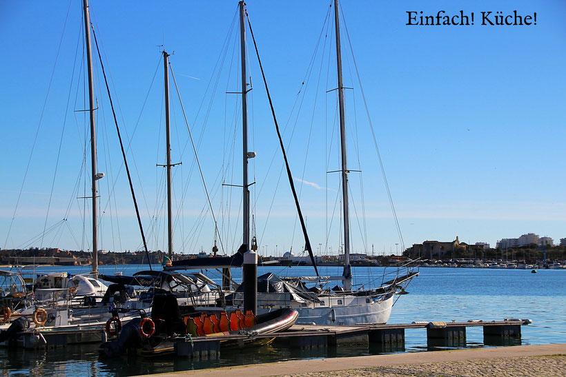 Einfach! Küche! (ab)gefahren - Adeus Algarve - Hafen von Portimao