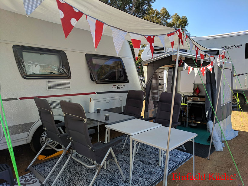 Einfach! Küche! (ab)gefahren - unser Caravan in Andalusien