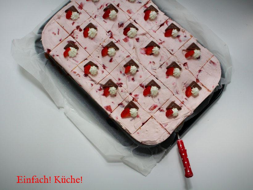 Erdbeer Schogetten Kuchen