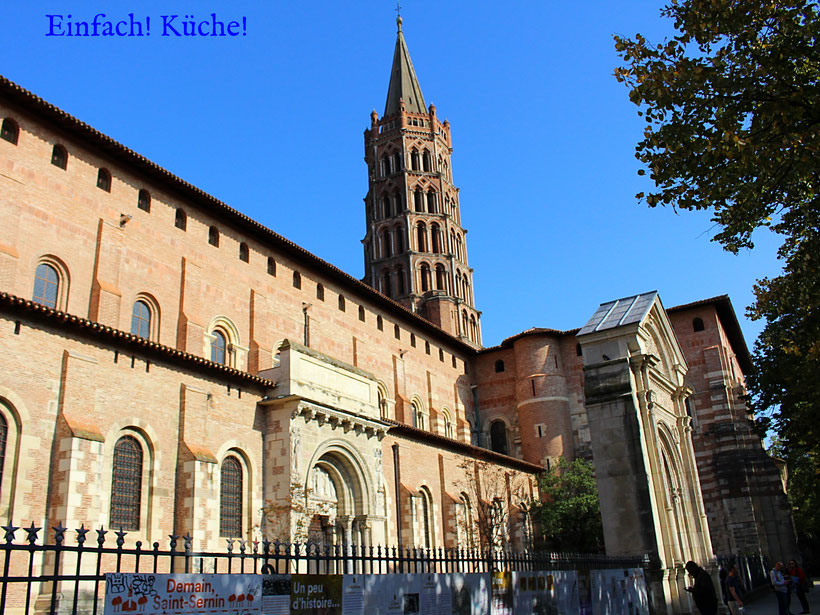 Basilika Saint Semin in Toulouse