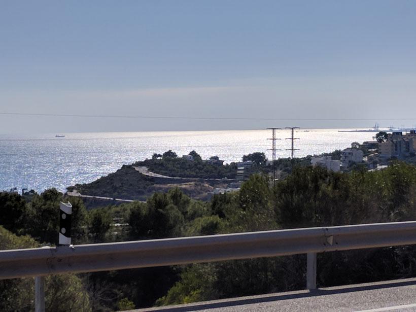 Das Mittelmeer an der Via de Sur