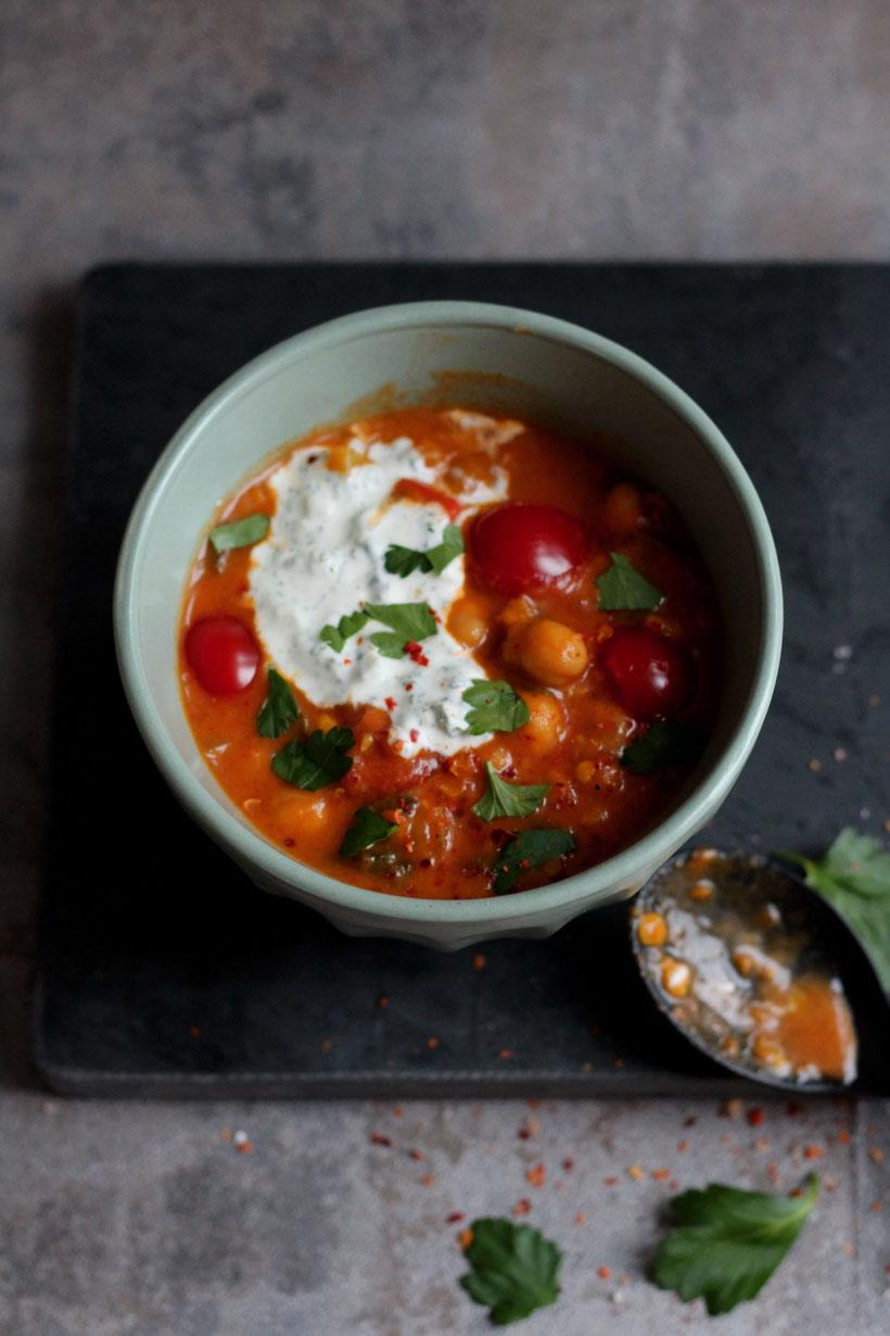 Einfach! Küche! Marrokanischer Linsentopf