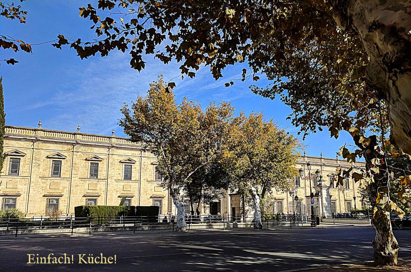 Die Universität von Sevilla, Andalusien, Spanien