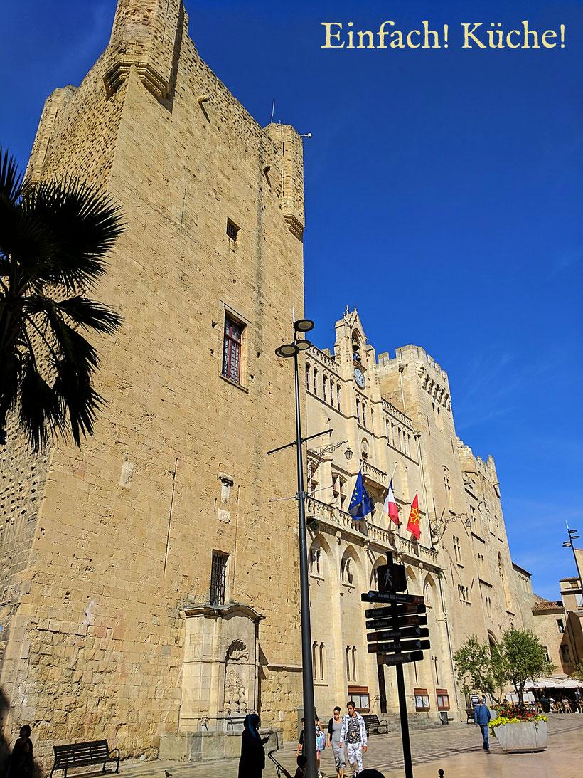"""""""Donjon Gilles Aycelin"""" in der Altstadt von Narbonne."""