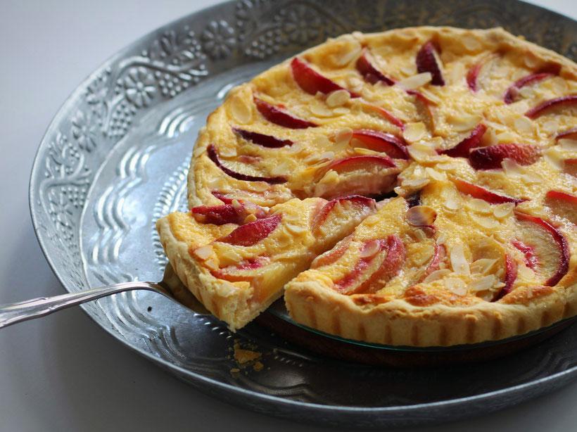 Einfach! Küche! Pfirsich Tarte