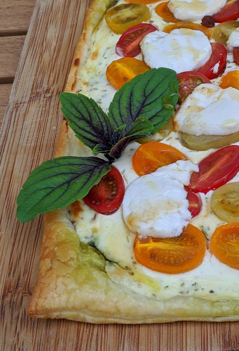 die Essklasse der alten Dorfschule - Tomaten Quiche