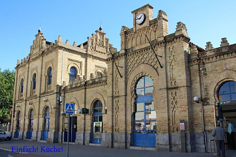 Der Bahnhof von Huelva, Andalusien