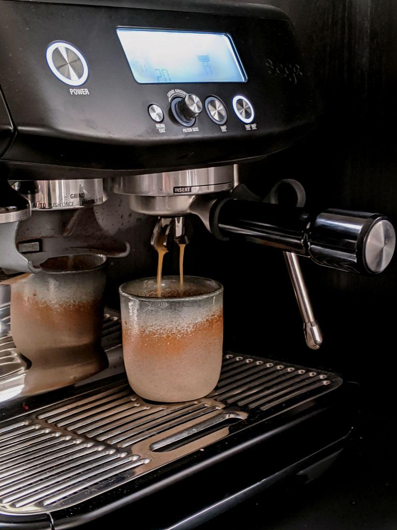die Essklasse der alten Dorfschule - Mister Sage - Espresso brühen mit Siebträgermaschine