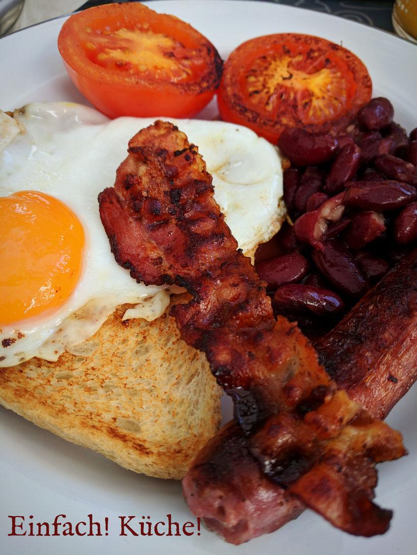 Einfach! Küche! lecker Essen - lecker Campingküche - English Breakfast