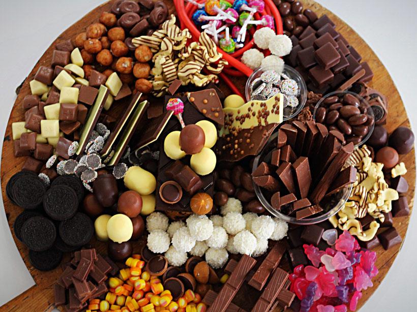 Einfach! Küche! scatter plate oder Schokolade satt