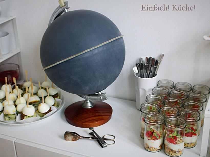 Hessenküche über dem Tellerrand: Frittata mit grüner Sosse und Ei