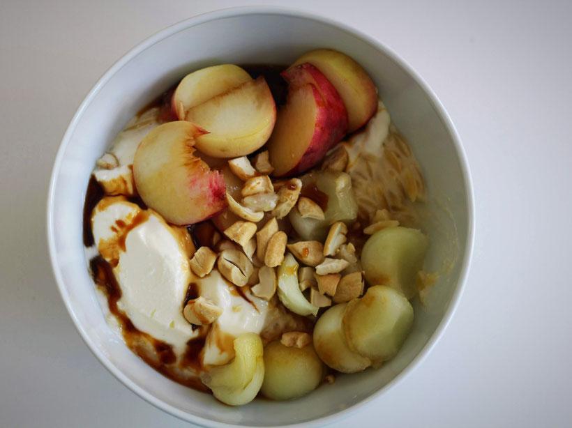 Einfach! Küche! Einfach (ab)gefahren kulinarisch - Porridge griechische Art