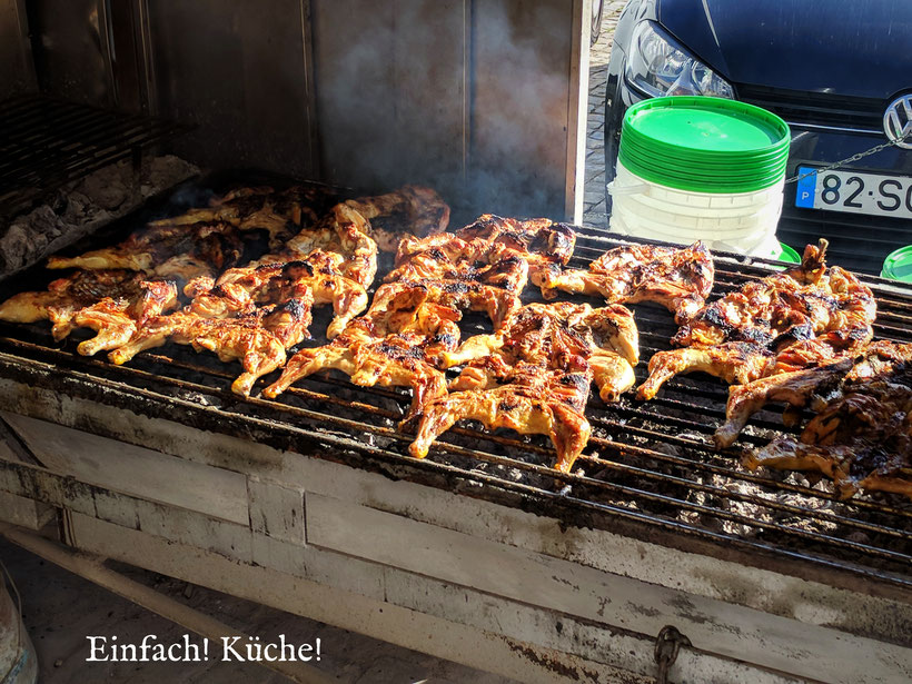 Einfach! Küche! Unser Tag in Bildern: Frango assado