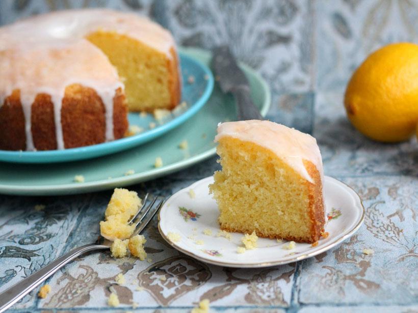 Einfach! Küche! Zitronenkuchen - Sonne auf dem Kuchenteller