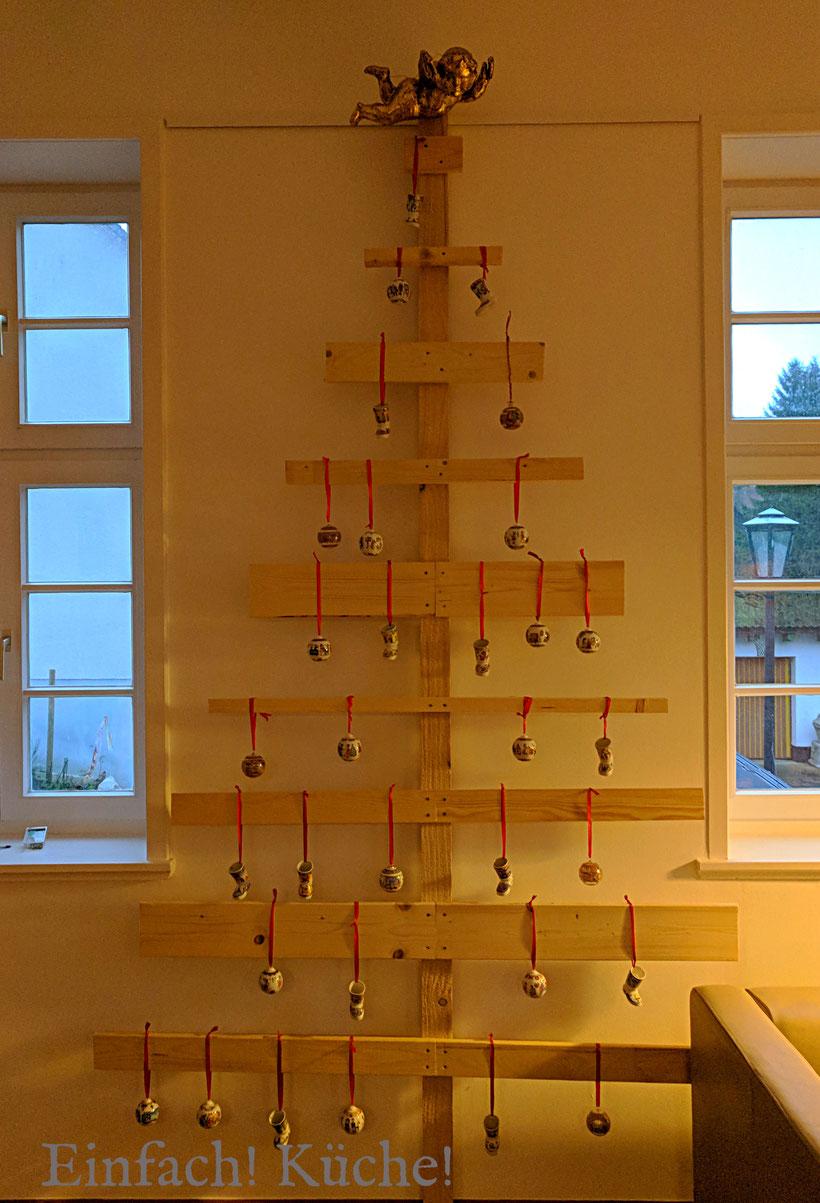 Einfach! Küche! Der Weihnachtsbaum in der alten Dorfschule 2017
