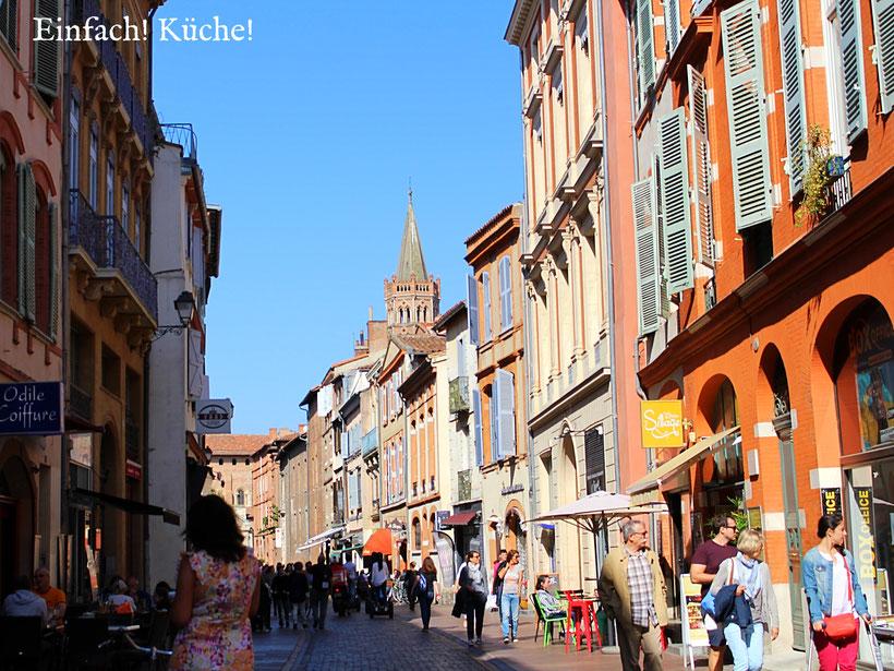 Zentrum von Toulouse