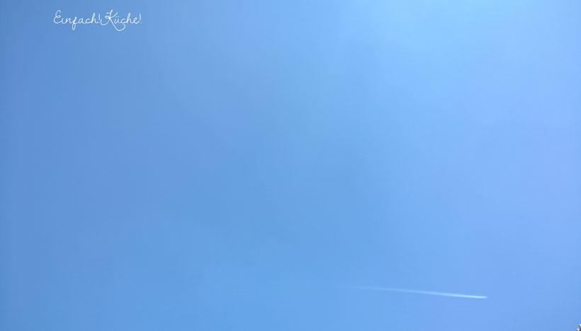 der Himmel über Montpellier