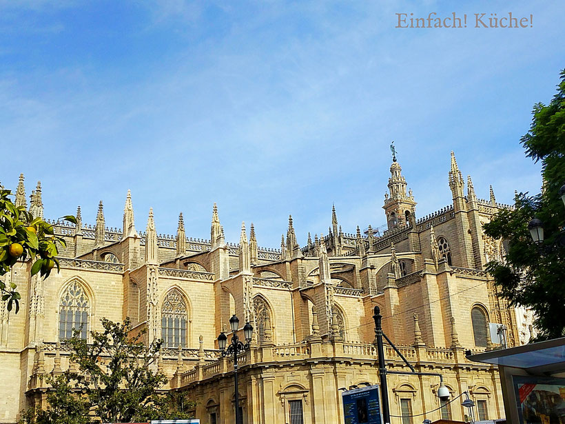 Kathedrale von Sevilla, Andalusien, Spanien
