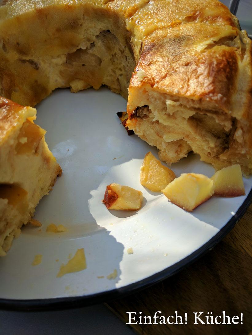 Einfach! Küche! lecker Essen - lecker Campingküche - Apfelkuchen aus dem Omnia