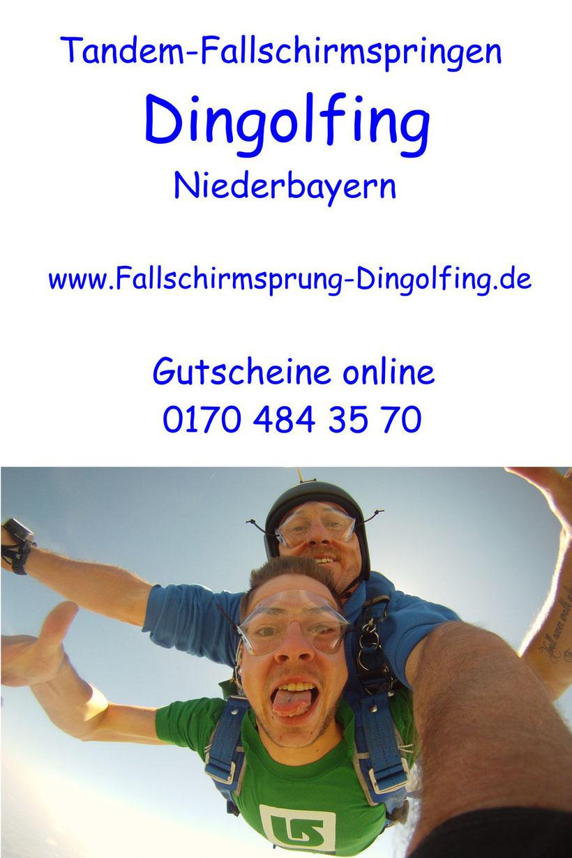 Tandem Fallschirmspringen Regensburg