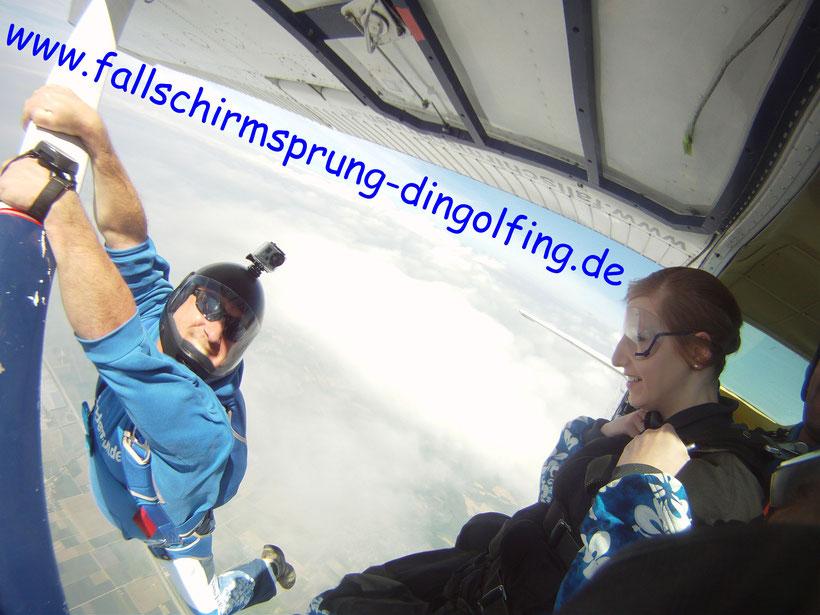 Fallschirmsprung Bayern mit Tandemfun