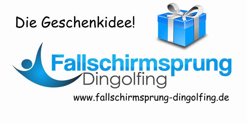 Fallschirmspringen Gutschein Weihnachten Geschenk