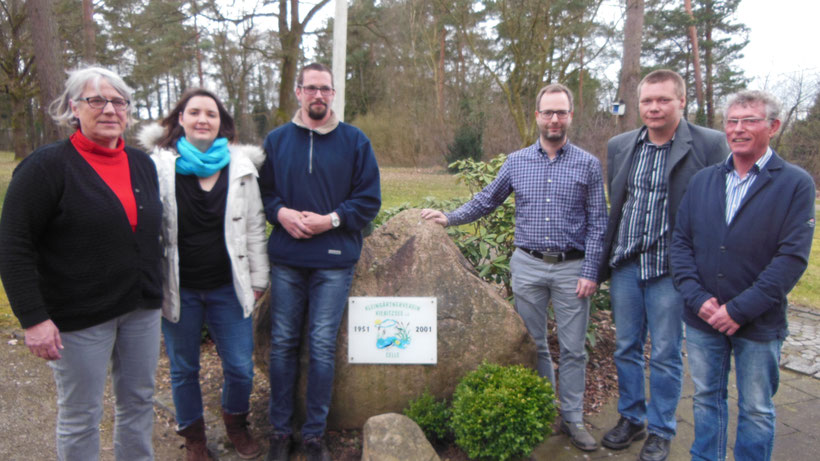 von links: Barbara Prellwitz, Andrea Gashi, Stephan Ruttewit, Andre Döring, Steffen Henschke u. Manfred Macher