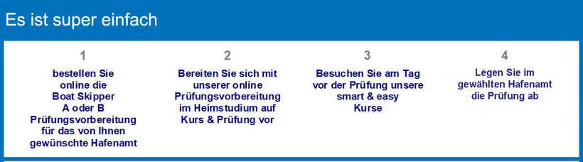 küstenpatent bootsführerschein yachtführerschein boat skipper kurs smart easy split prüfung split